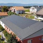 Pose de tuiles photovoltaïques