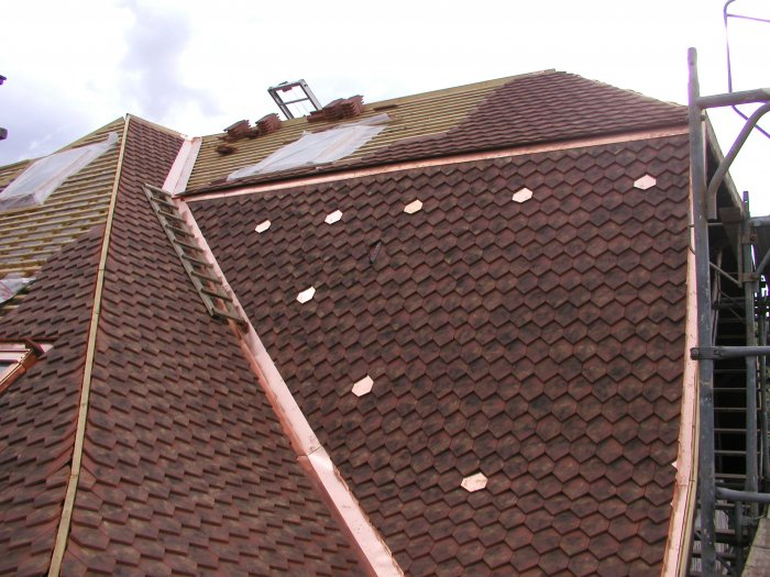 Ferblanterie couverture chapuisat sa ferblanterie for Feuille de cuivre toiture